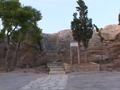 The Areopagus (Mars Hill) in Athens, Greece Stock Footage