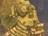 Antikythera mechanism; Analog computer gears Stock Footage
