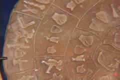 """The """"Phaestus Disc"""" from Phaestos (Festos), Crete Stock Footage"""
