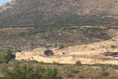 The bronze age citadel of Myceanae, Greece Stock Footage
