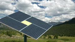 Solar Panel HD1920 Stock Footage