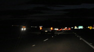 Stock Video Footage of blurry night driving 8
