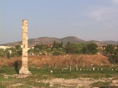 Stock Video Footage of The ruins of the Temple of Artemis (Diana) at Ephesus (modern day Turkey)