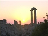 The Temple of Apollo at Didyma (modern day Turkey) Stock Footage