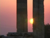 Stock Video Footage of The Temple of Apollo at Didyma (modern day Turkey)