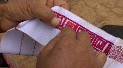 Akha Sewing Stock Footage