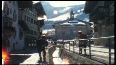 Kitzbühl, Austria, 1960s (vintage 8 mm amateur film) Stock Footage