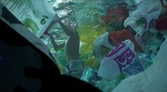Stock Video Footage of Plastic bags underwater 2