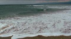 Sandy Beach Time Lapse - stock footage