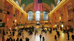 New York Central Station Stock Footage