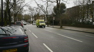 Stock Video Footage of HD1080p Emergency ambulance in London