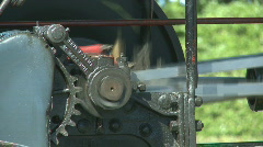 Old steam powered machinery Stock Footage