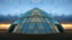 Pearl Cloud Dome Stock Footage