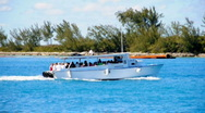 Sightseeing Tour Boat 1461 Stock Footage