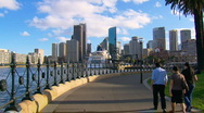 Stock Video Footage of Sydney City & Harbour with Ferry & Opera House PT27
