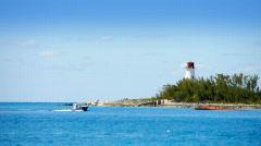 Nassau Harbor 1475 Stock Footage