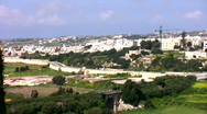 View of Malta Stock Footage