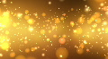Golden Glitters - Motion Background 20 (HD) Footage