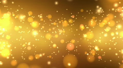 Golden Glitters - Motion Background 20 (HD) Stock Footage