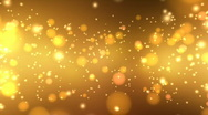 Stock Video Footage of Golden Glitters - Motion Background 20 (HD)