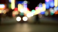 Stock Video Footage of vancouver by night