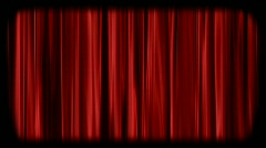 Curtains Stock Footage