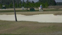 Golf Course Activity - stock footage