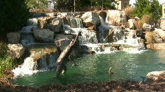 Pristene Waterfall - stock footage