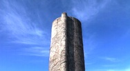 Timelapse of concrete silo Stock Footage
