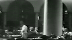Cafe and dancers--From 1930's film Stock Footage