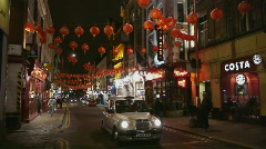 HD1080p London's Chinatown in the Soho area of the West End of London Stock Footage