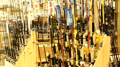Hunting Supply Store - stock footage