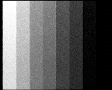 PAL - TV test. Color bars crash with audio Stock Footage
