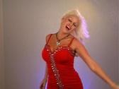 Stock Video Footage of Beautiful Blonde Dancing (1)