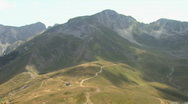 Stock Video Footage of Mountain peaks