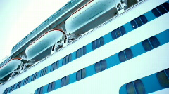 Cruise Ship Tender 1516 - stock footage