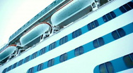 Cruise Ship Tender 1516 Stock Footage