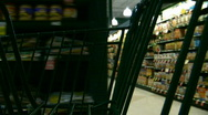 Shopping aisles Stock Footage