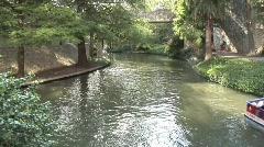 Riverwalk in San Antonio - stock footage