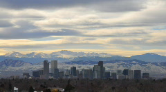 Day to Night to Day Timelapse 3 - Denver Colorado - stock footage