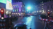 Stock Video Footage of HD1080p Driving on streets of  London at night