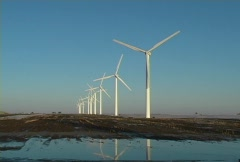 Wind Energy - stock footage