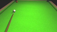 Billiards Stock Footage