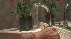 Washing hands hygiene concept Stock Footage