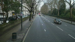 HD1080p Very long sequence of driving on streets of  London at day Stock Footage