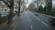 Stock Video Footage of HD1080p Fast driving on streets of  London at day (Time Lapse)