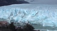Perito Moreno Glacier calving Stock Footage