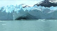 Stock Video Footage of Perito Moreno Glacier calving Argentina