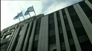 Antwerp diamond center Stock Footage