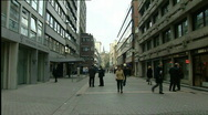 Antwerp diamond center Stock Footage